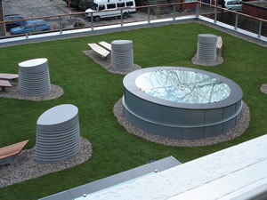 University of Sheffield Humanities Department Green Roof by Malden Roofing